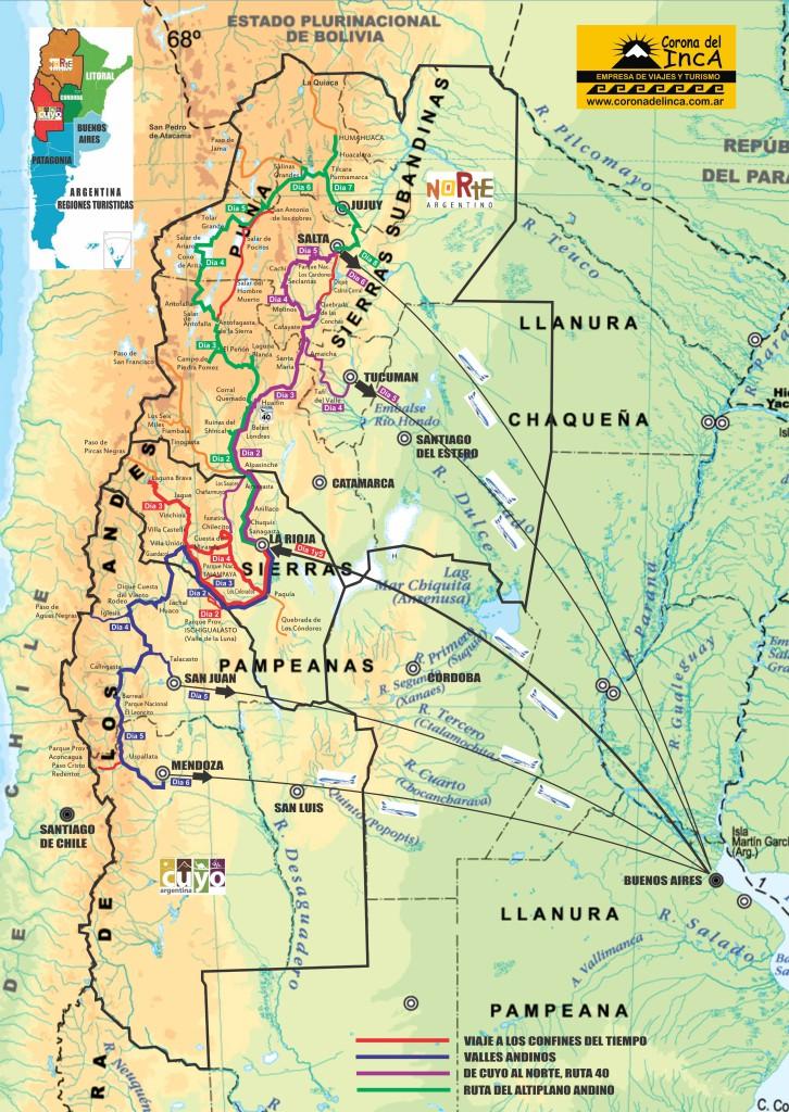 Mapa Programas Argentina 2